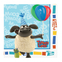 Timmy Time Party Lunch Napkins (16 Pack)