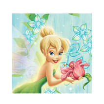 Tinker Bell Flowers Party Napkins (20)
