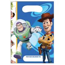 Toy Story 3 Loot Bags (6 Pack)
