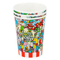Where's Wally Captivating Paper Cups (8 Pack)