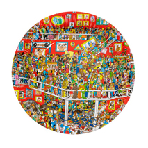 Where's Wally Perplexing Party Plates (8 Pack)