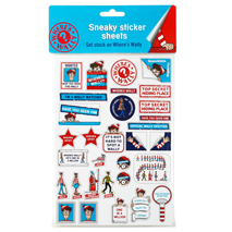 Where's Wally Sneaky Sticker Set (8 Sheets)