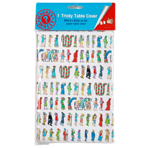 Where's Wally Tricky Tablecover for Parties