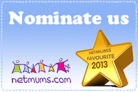Nominate Party Bag Goodies as Netmums Favourite