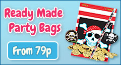 Ready Made Party Bags from only 79p
